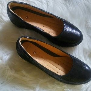 Clarks Artisan Unstructured Wedges Size 7M